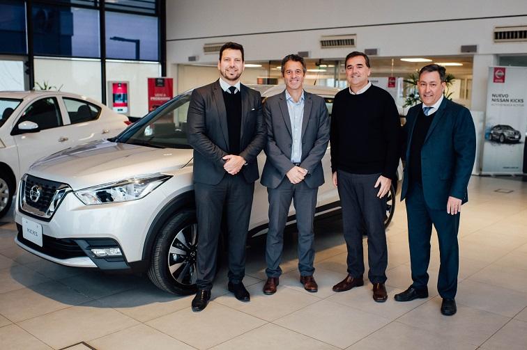 Autocity entregó el primer Nissan por Plan de Ahorro