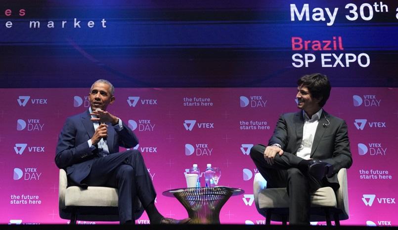 Obama en un importante evento sobre ecommerce