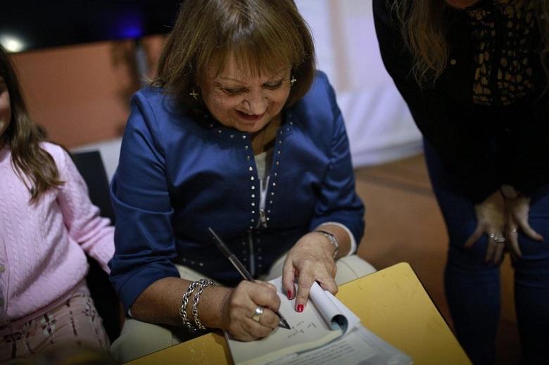 Liliana González presentó su nuevo libro