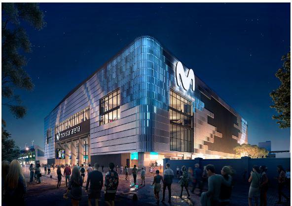 Nace Movistar Arena, un centro de entretenimiento