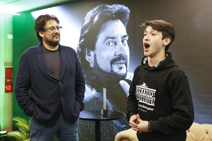 El tenor cordobés Marcelo Álvarez brindó una charla en Bancor