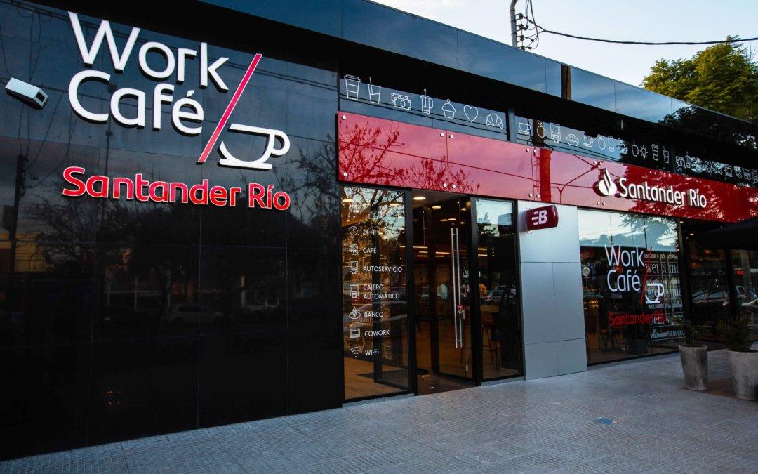 Santander Río inauguró el primer Work Café en Córdoba