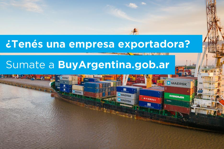 BuyArgentina.gob.ar es plataforma para exportadores