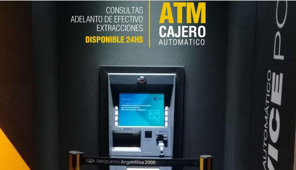 Una empresa no financiera tiene su red de cajeros automáticos