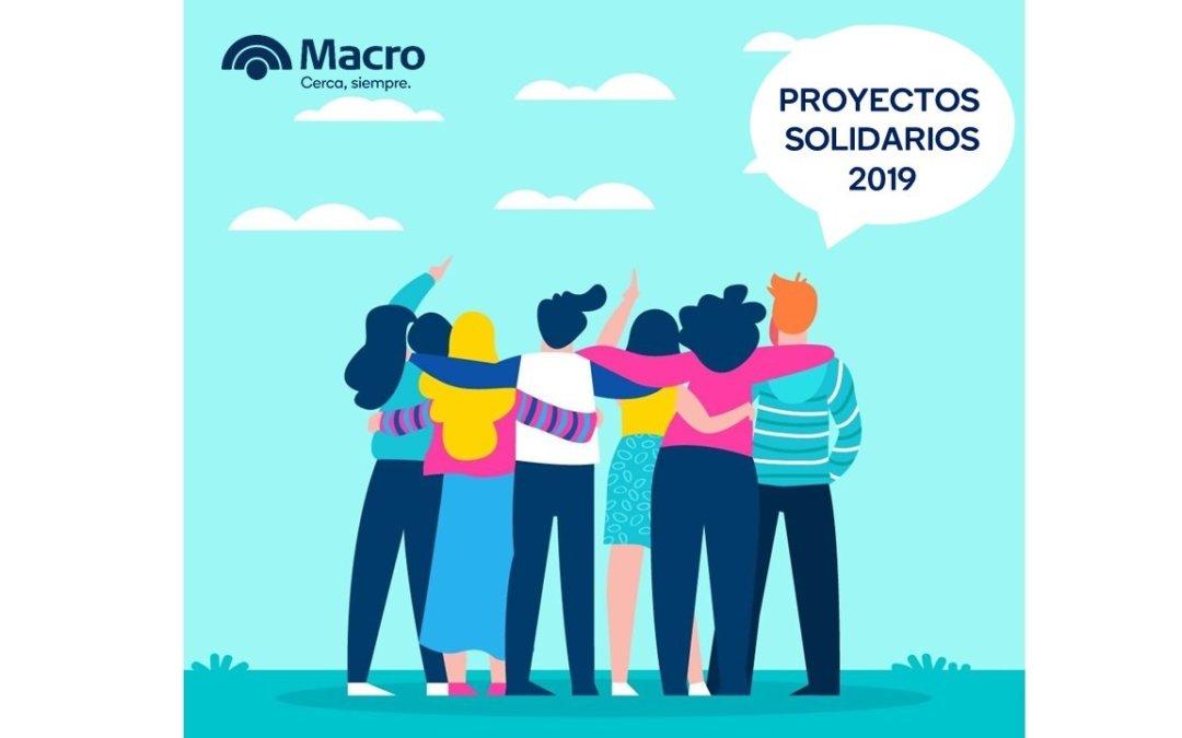 """Fundación Macro: ganadores de """"Proyectos solidarios"""""""