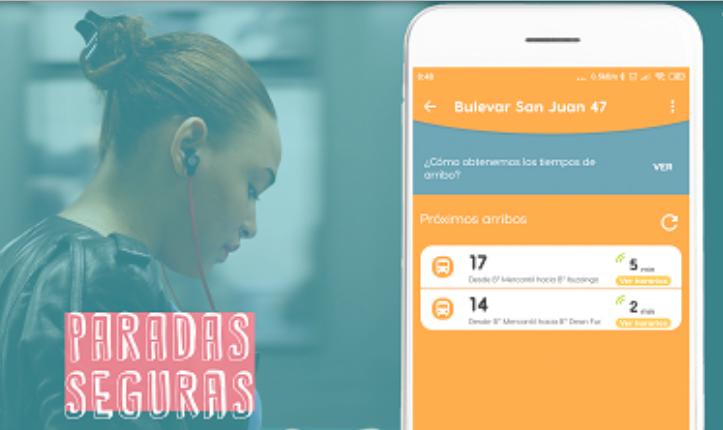 Ualabee, una app que informa paradas de transporte seguras