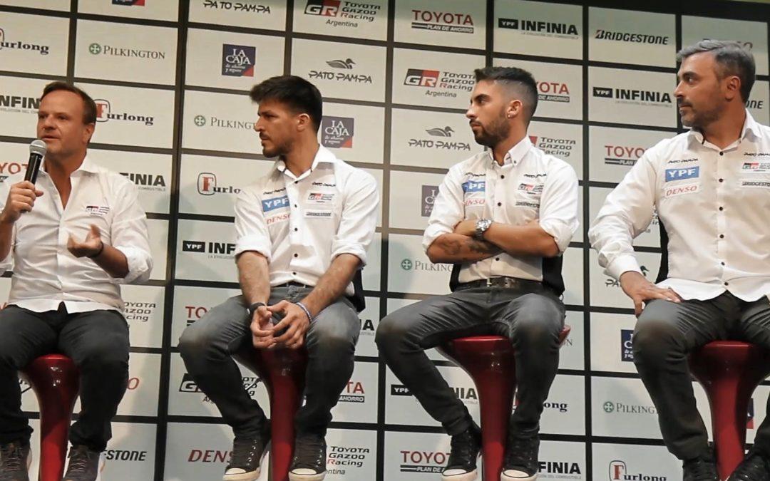 El plantel de TOYOTA GAZOO Racing Argentina