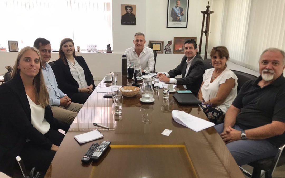 Socios del Córdoba Bureau preparan una carpa médica para la provincia