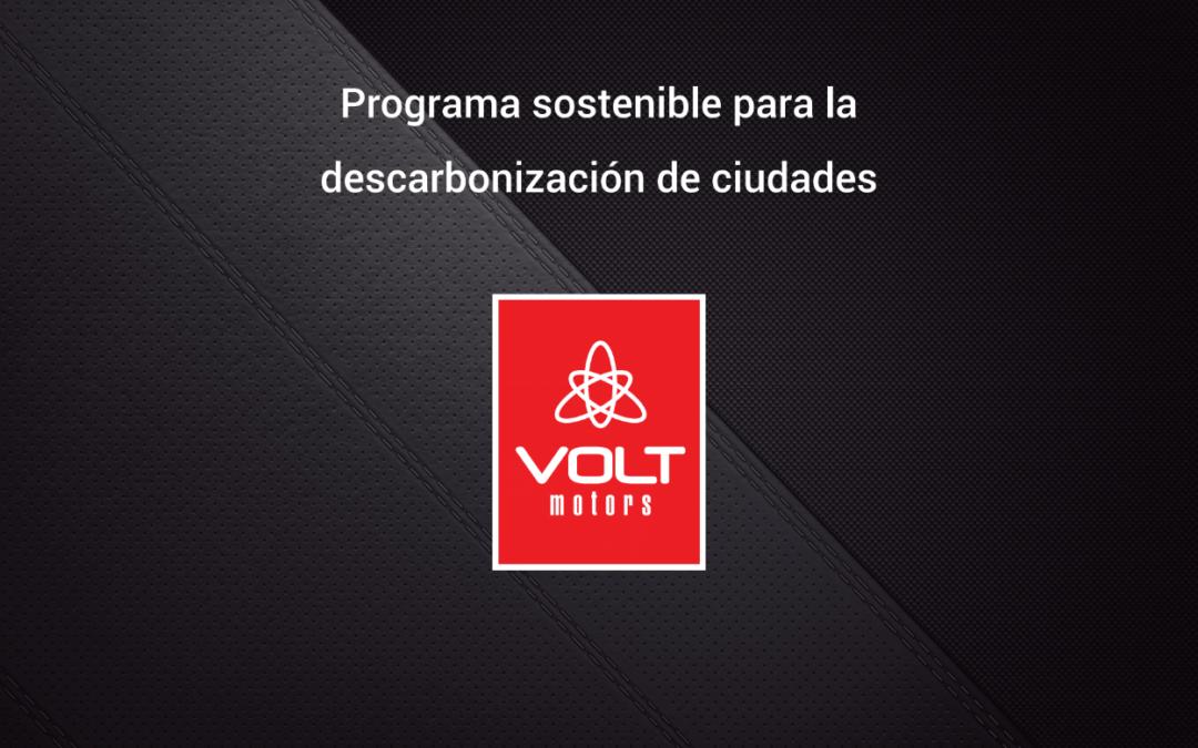 VOLT motors diseñó un programa de movilidad sustentable