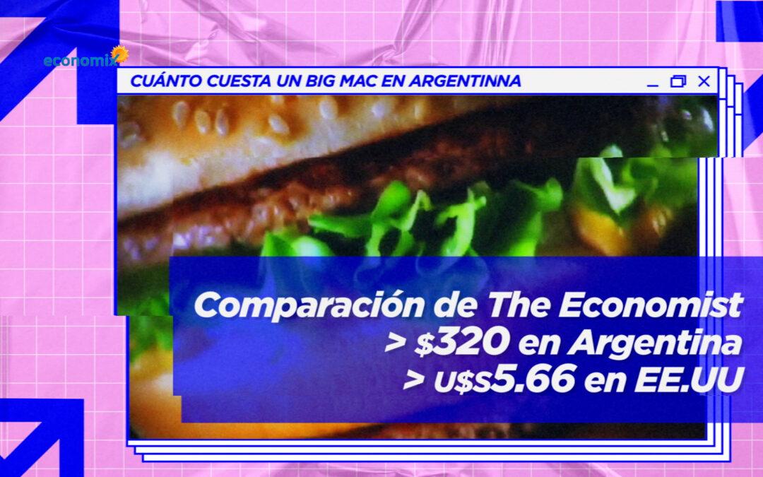 El Big Mac, otra muestra del atraso del peso