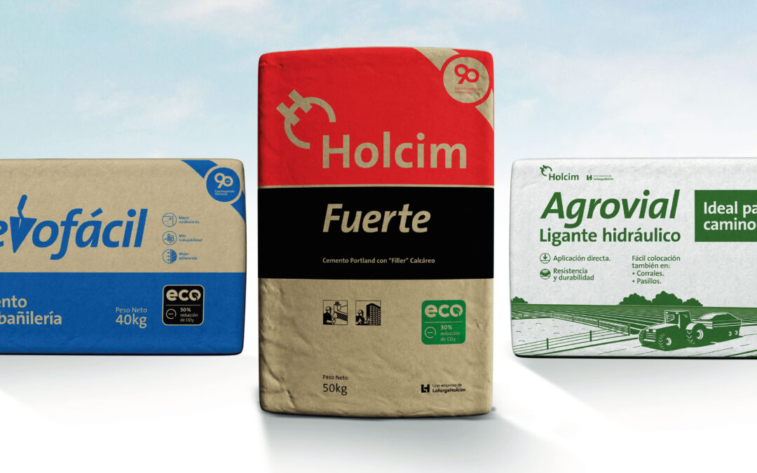 Llegan las EcoEtiquetas a todos los productos Holcim