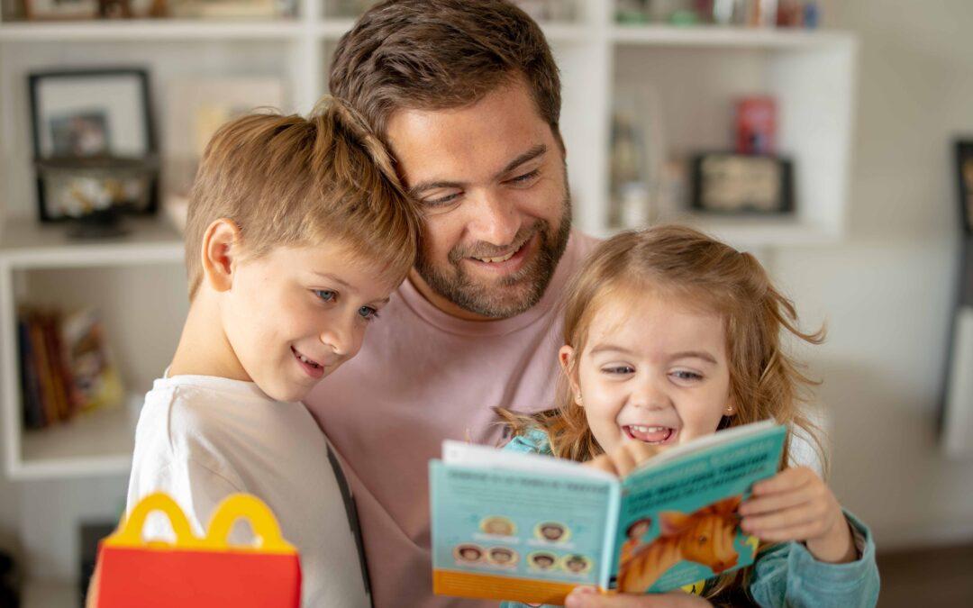 Por el Día del Libro, Arcos Dorados donará 3.000 libros infantiles en Córdoba