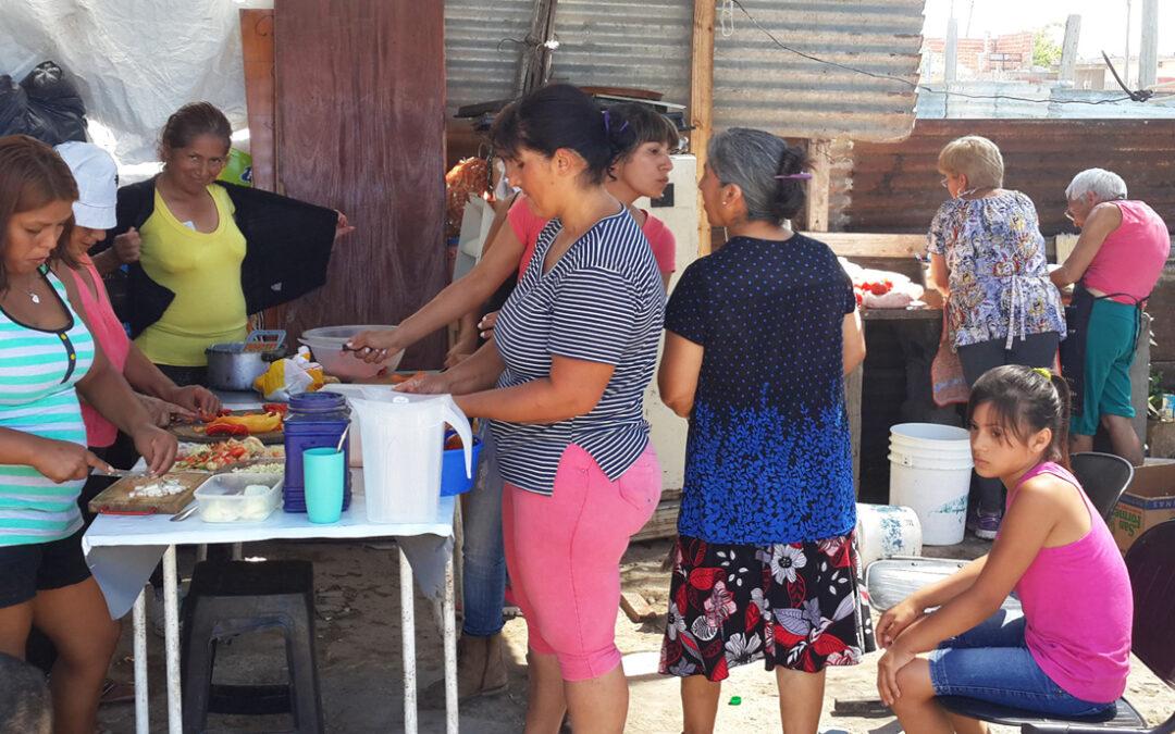 Crece la demanda de alimentos en comedores y merenderos comunitarios